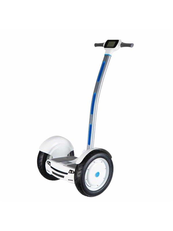 """Gyropode électrique avec roues 15"""" blanc"""